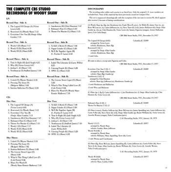 Complete CBS Studio Recordings (4 discog 1)
