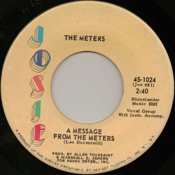 01 A message from the Meters