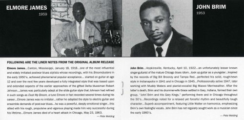 Elmore James & John Brim - Whose Muddy Shoes - Inside